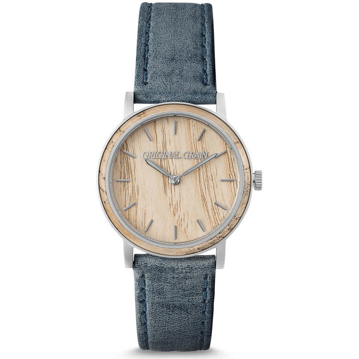 Original Grain Avalon Ash Wood 34mm Grey Light Brown