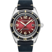 Spinnaker Fleuss Automatic Oxblood Red
