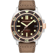 Spinnaker Hull Automatic Cognac Brown
