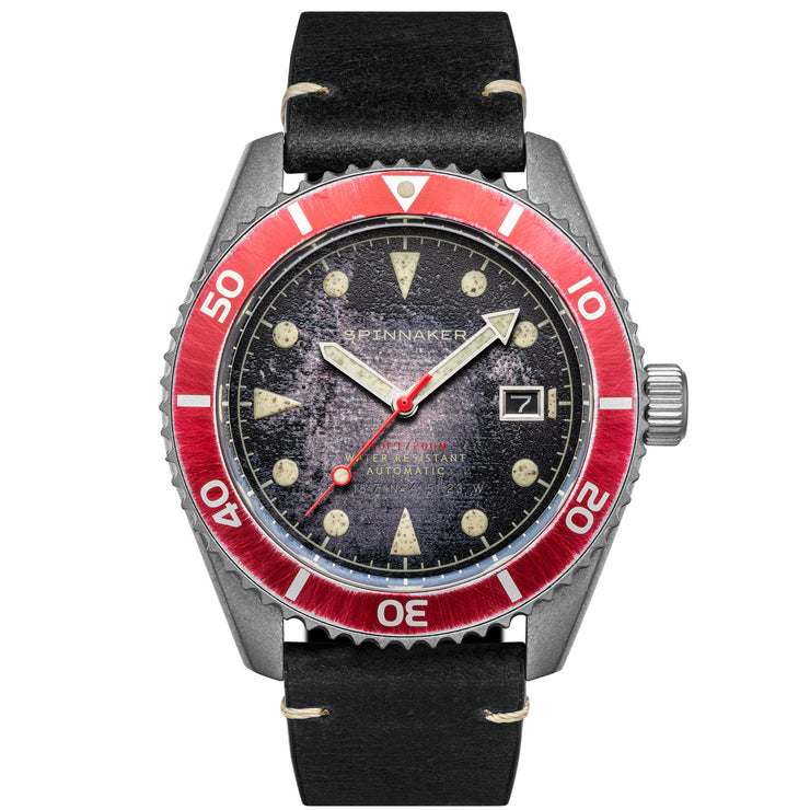 Spinnaker Wreck Automatic Distressed Black