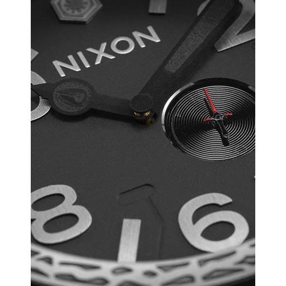 Nixon 51-30 Leather Star Wars Kylo Black angled shot picture