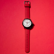 Shinola Detrola 43mm The Radio Flyer Black Red