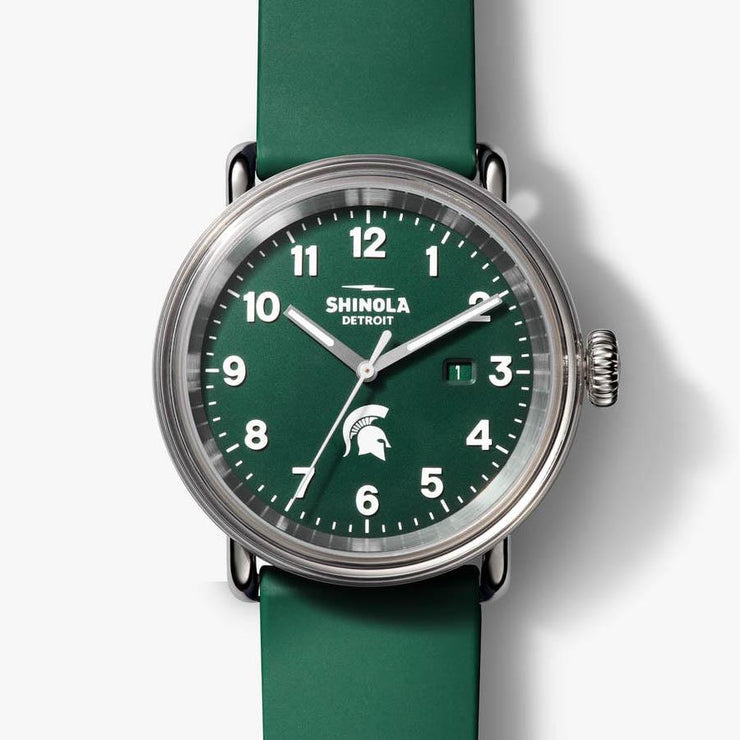Shinola Detrola 43mm The Spartan Green White