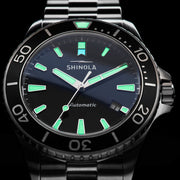 Shinola Lake Superior Monster Automatic 43mm Silver