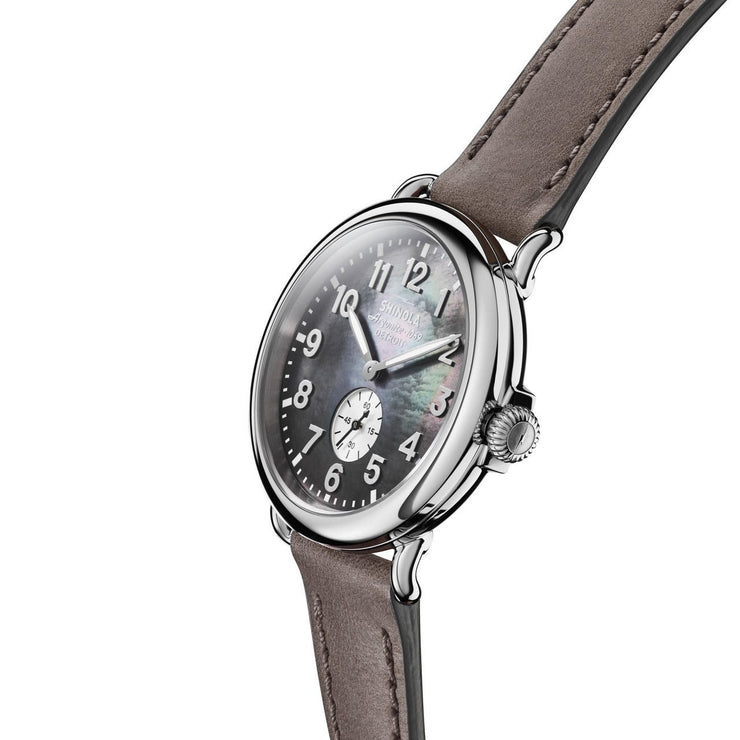Shinola Runwell 41mm Grey Mother of Pearl