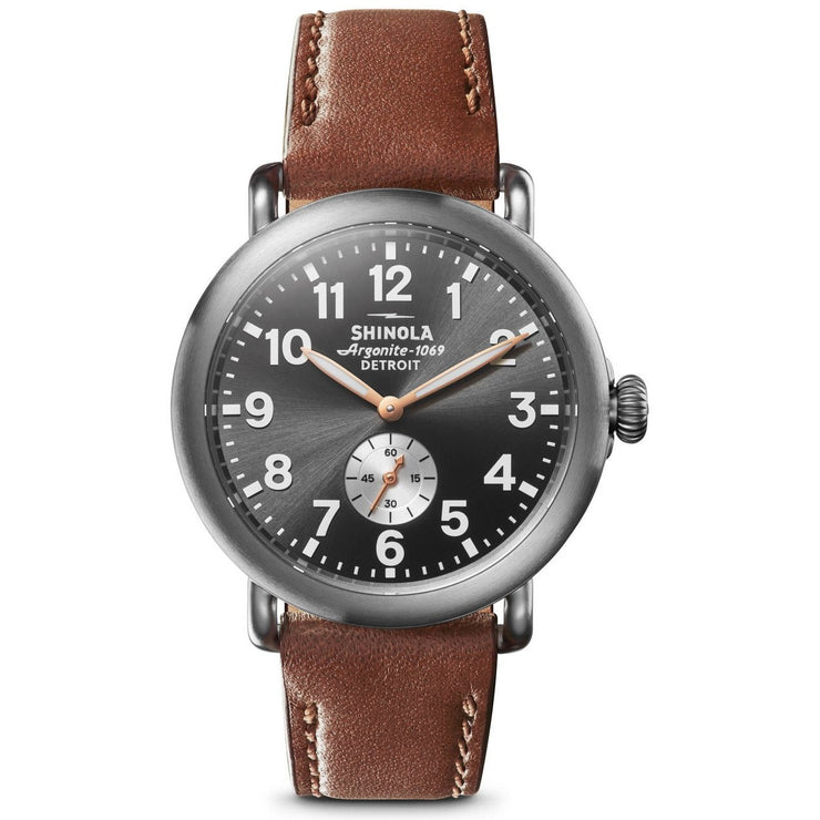 Shinola Runwell 41mm Titanium Gunmetal