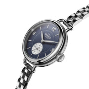 Shinola Birdy 34mm Blue Silver SS