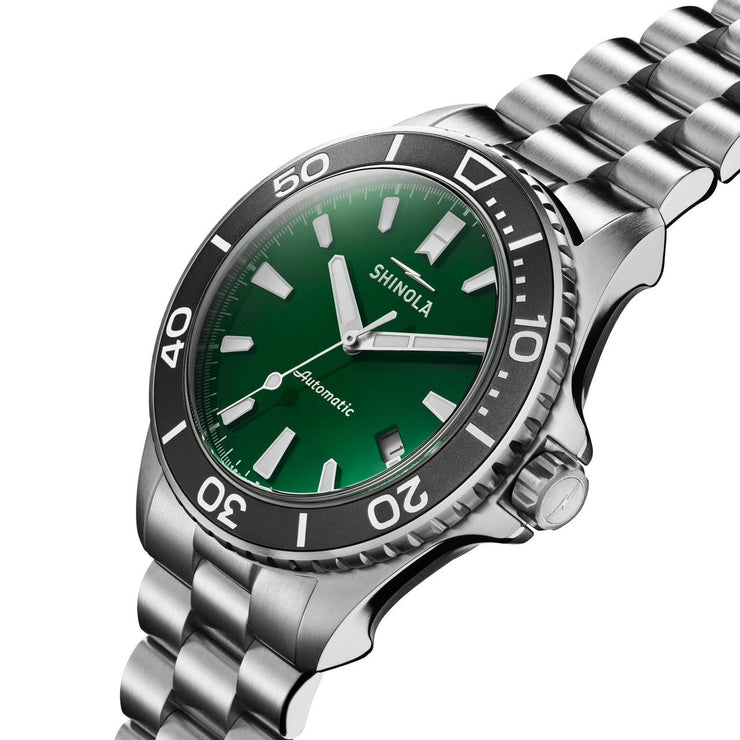Shinola Lake Ontario Monster 43mm Automatic Green