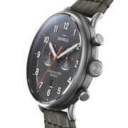Shinola Canfield Chrono 43mm Gunmetal Black