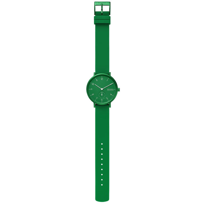 Skagen SKW2804 Aaren Kulor 36mm Green angled shot picture