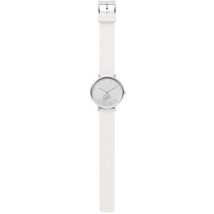Skagen SKW2763 Aaren Kulor 36mm White angled shot picture