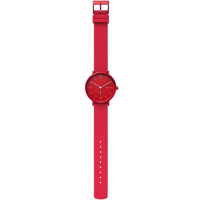 Skagen SKW2765 Aaren Kulor 36mm Red angled shot picture