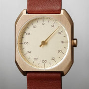 Slow Mo 07 Swiss One Hand Brown Gold