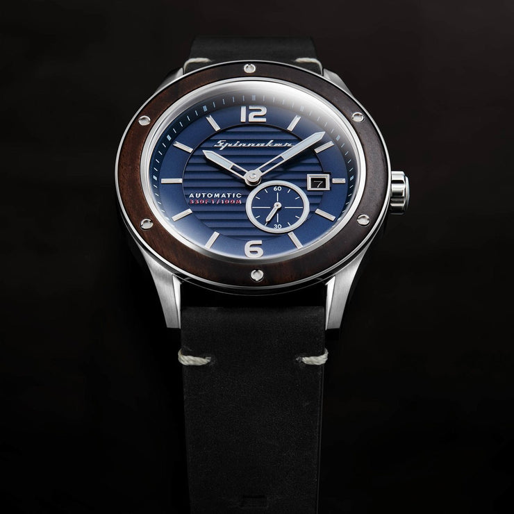 Spinnaker Sorrento Automatic Silver Black