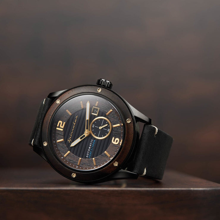 Spinnaker Sorrento Automatic Ebony Black
