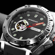 Spinnaker Overboard 1000M Automatic Black Red Silver