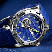 Spinnaker Overboard 1000M Automatic Blue Silver