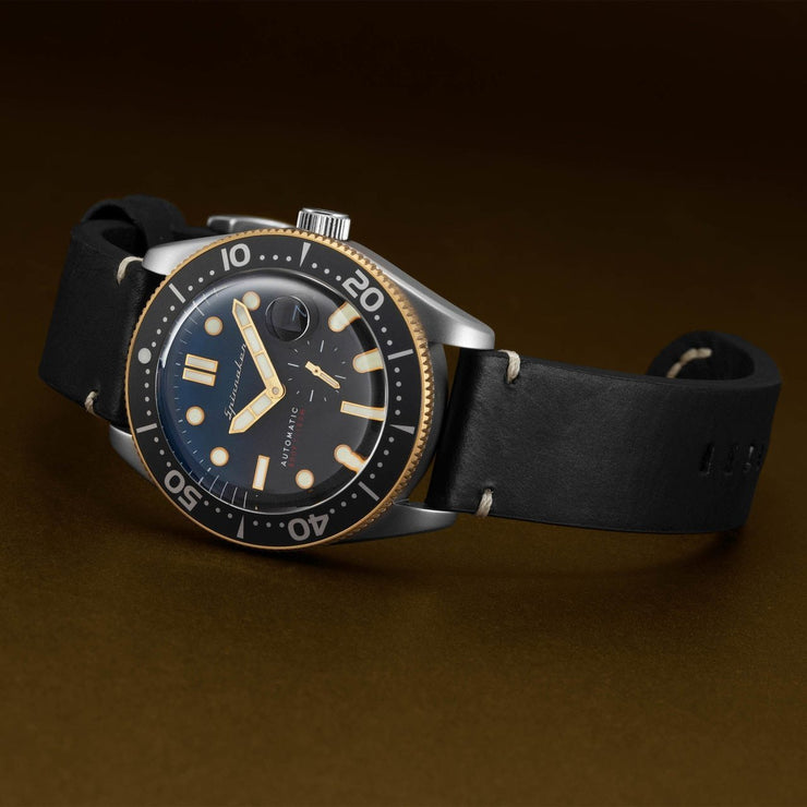 Spinnaker Croft Automatic Blue Black