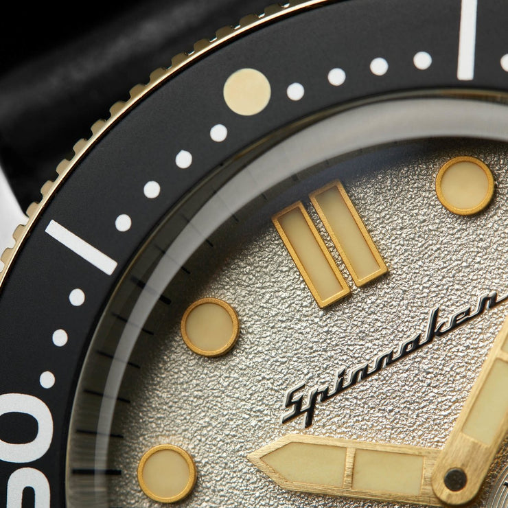 Spinnaker Croft Automatic Silver Black