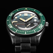 Spinnaker Croft Automatic Green Silver