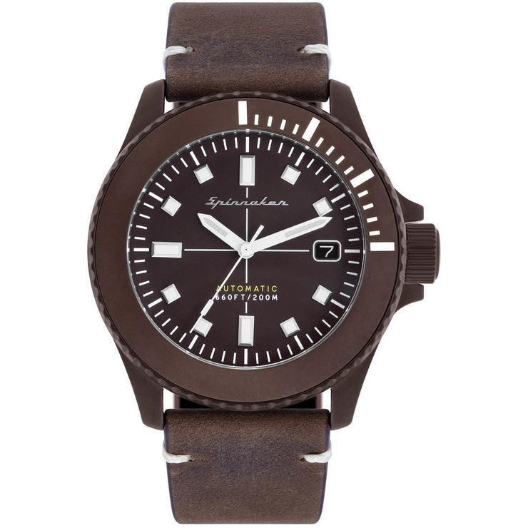 Spinnaker Spence Automatic Brown