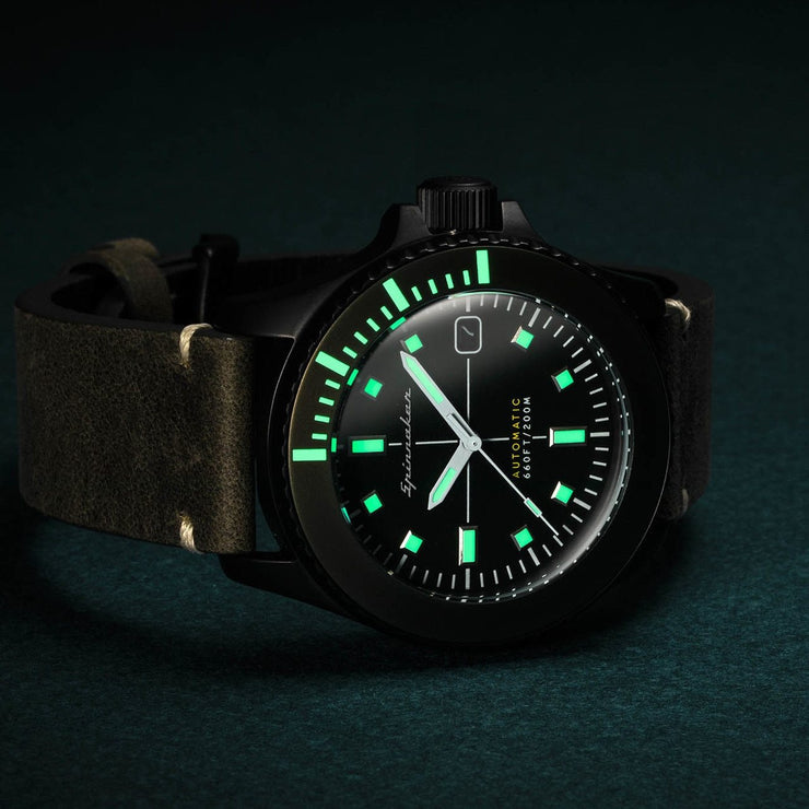 Spinnaker Spence Automatic Green