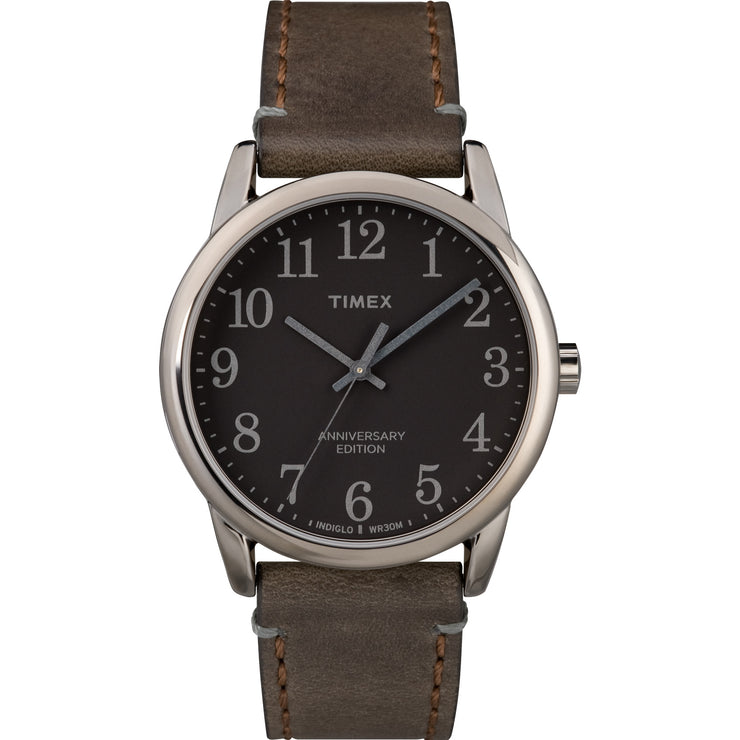 Timex Easy Reader 40th 38mm Gunmetal Brown