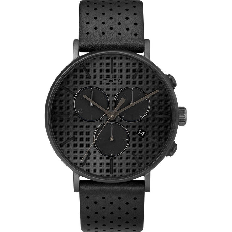 Timex Fairfield Chrono Supernova All Black