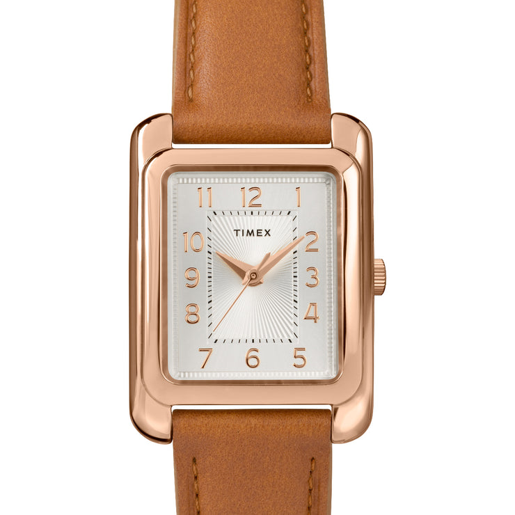 Timex Meridian 25mm Rose Gold Silver