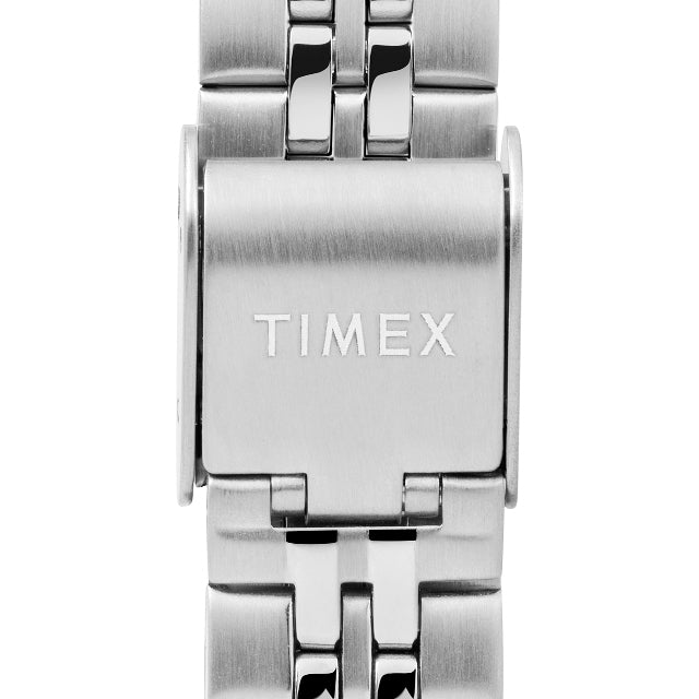 Timex Digital Mini 27mm Silver angled shot picture
