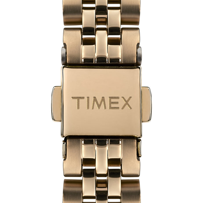 Timex Model 23 33mm Black Gold angled shot picture