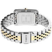 Timex Addison 25mm Silver Gold SS