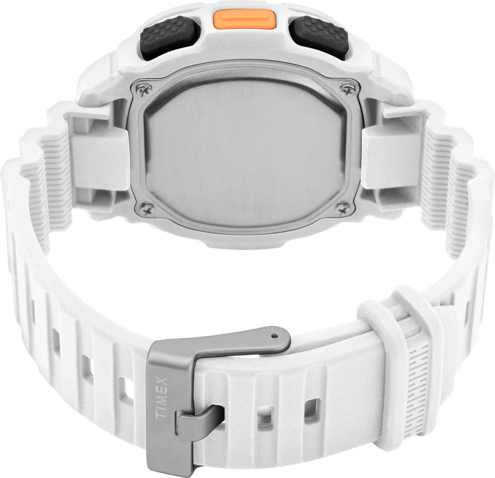 Timex Boost Shock Digital 47mm White angled shot picture