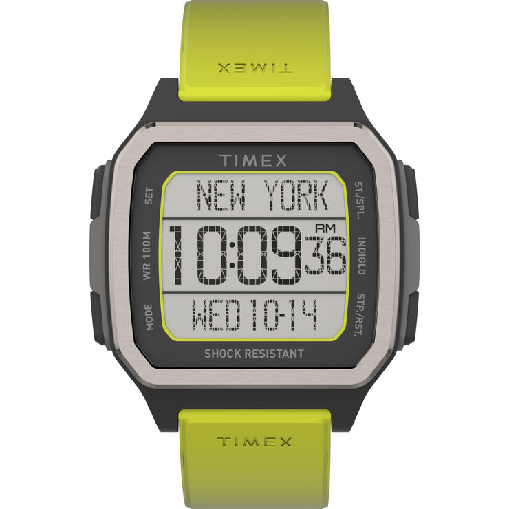 Timex Command Urban 47mm Black Yellow