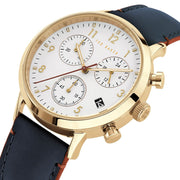 Ted Baker Cosmop Chronograph Gold Blue