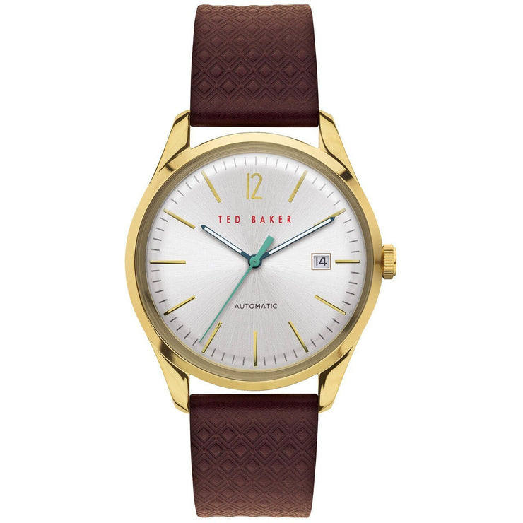 Ted Baker Daquir Automatic Gold Silver Red