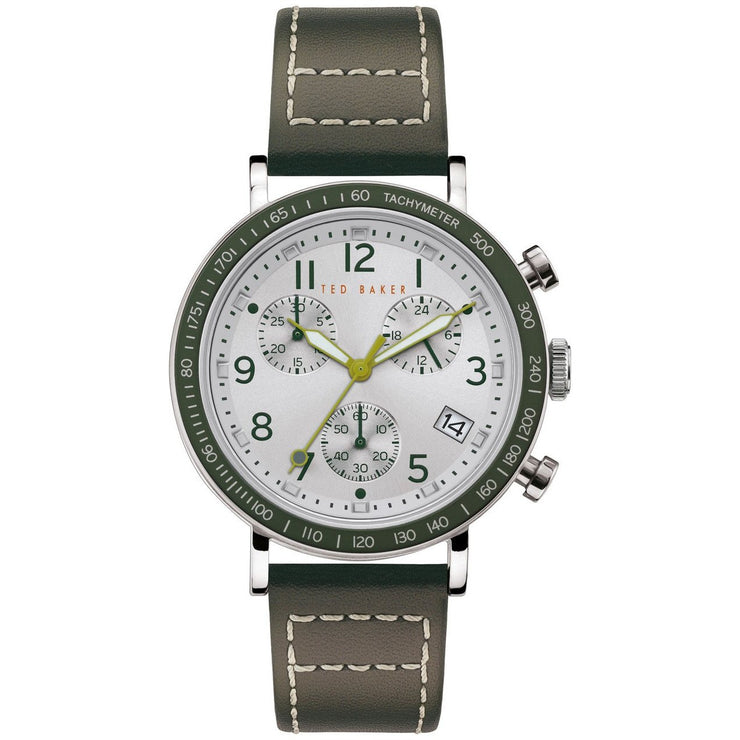 Ted Baker Marteni Chronograph Silver Green