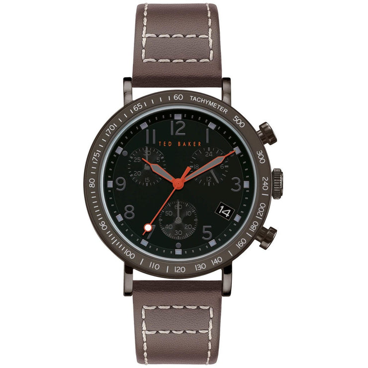 Ted Baker Marteni Chronograph Black Brown