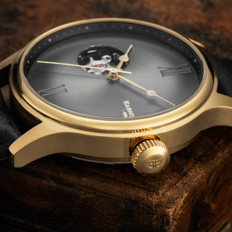 Thomas Earnshaw Precisto Bauer Automatic Black Gold