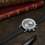 Thomas Earnshaw Investigator Chrono Silver Grey