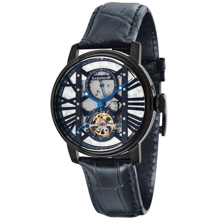 Thomas Earnshaw Westminster Automatic All Black angled shot picture