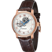 Thomas Earnshaw Westminster Hand Wind Brown Rose Gold