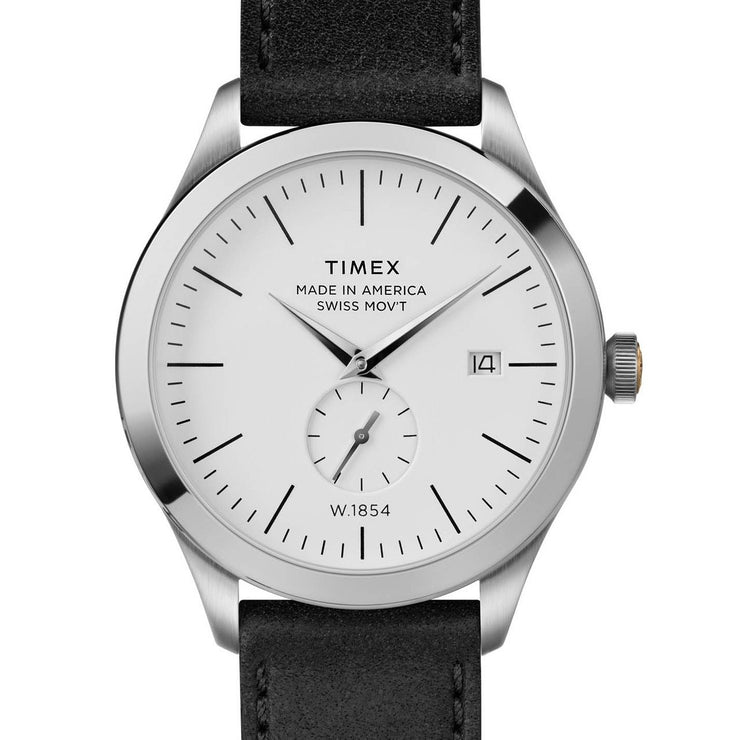 Timex American Documents 41mm Black Silver