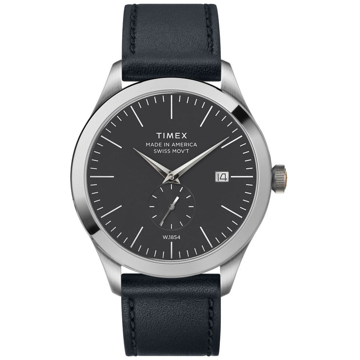 Timex American Documents 41mm Black