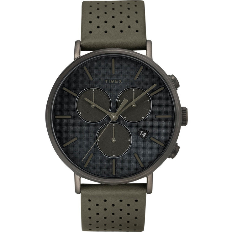 Timex Fairfield Supernova Chrono Gunmetal