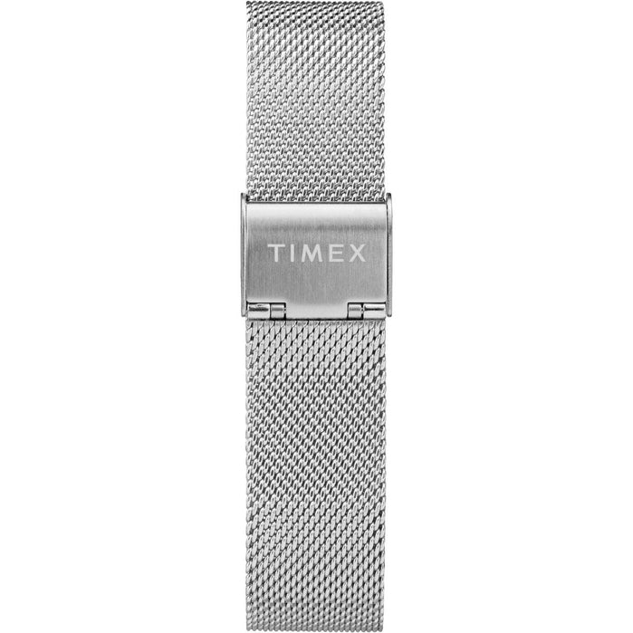 Timex Marlin Mechanical 34mm SS Silver angled shot picture