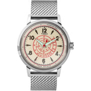 Timex Todd Snyder Beekman 40mm SS Silver