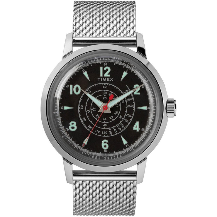 Timex Todd Snyder Beekman 40mm SS Silver Black