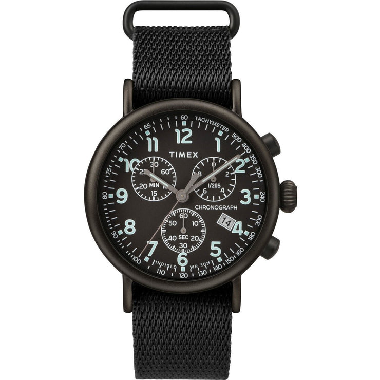 Timex Standard Chrono All Black