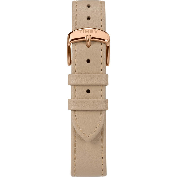 Timex Waterbury Classic 36mm Rose Gold Natural angled shot picture